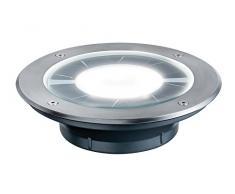 Paulmann 937.76 Exterior 0.36W Acero inoxidable, Transparente - Punto de luz (Exterior, Empotrada, Alrededor, LED, Blanco cálido, IP67)