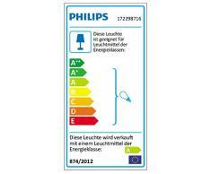 Philips Ecommods Pond - Aplique de iluminación exterior, bombilla incluida, 23 W, luz blanca cálida, color blanco
