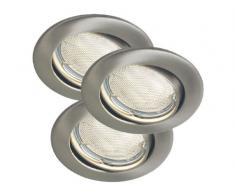 HV-Kit de iluminación empotrada, 3 x GU10/230V/7W-ESL, Nordlux