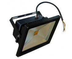 LEDVero - Foco LED (30 W), color negro