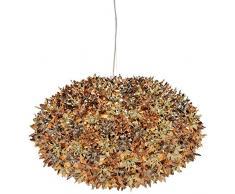 Kartell 9268XR Bloom - Lámpara de techo, color dorado, bronce y cobre