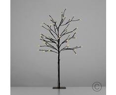 MiniSun - Decorativa lámpara de pie con 60 luces LED de estilo árbol bonsái 'Cherry Blossom' para interior y exterior