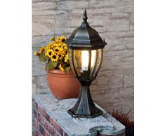 Tradicional Lámpara de Pie / Pequeño / Iluminación Exterior IP44 / Oro Antiguo 8383n