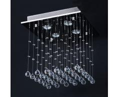 Jago - DEKL03-2 - Lámpara araña de cristal de diseño - Base cuadrada