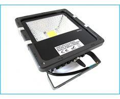 Faros Proyector LED IP65 luz de inundación al aire libre 20W Cob Epistar hundirse Pccooler Garantía 24 Meses