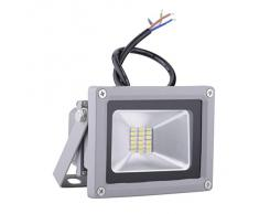 Pack of 4,20W luz blanca fría SMD proyector LED Proyector de exterior Proyector