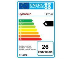 DynaSun 10241 2xSYD26W - Bombilla de bajo consumo para estudio fotográfico (2 unidades, 150 W), blanco