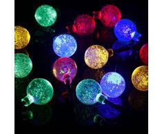 CMYK® LED guirnalda de luces para hardñub jardín multicolor - 6M - Clase de eficiencia energética A