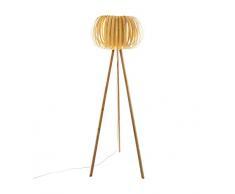Atmosphera Lámpara de pie modelo Effet de estilo rústico E27 60W (bombilla no incluida)