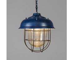 Lámpara colgante POSEIDON azul