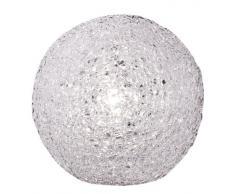 Wofi 826401060200 - Lámpara de mesa (1 bombilla, 20 cm de diámetro), color blanco