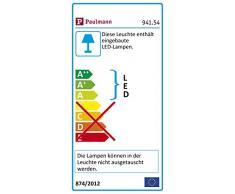 Paulmann Luz Paulmann 941.54Outdoor Plug & Shine Spot Plan Tini Juego 3000K 24V Aluminio 94154exterior lámpara foco iluminación (Jardín Iluminación, aluminio, integrado, 26W, Antracita, 500x 2.1x 22.3cm