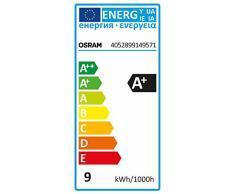 OSRAM - Bombilla LED Estandar Mate ,9W-60 ,E27, luz fría ,25.000 horas
