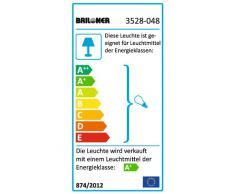 Briloner Super Living 3528-048 - Lámpara de techo (4 luces LED GU10, cromada)