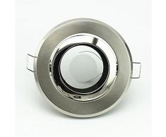 Paquete de 6 empotrada de techo LED Gu10 Mr16 Dpotlight accesorio del sostenedor de la lámpara zócalo clarityamdx Satisfacción apropiado para sitio de la cocina