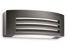 Philips myGarden Fragance - Aplique, iluminación exterior, bombilla incluida, 20 W, luz blanca cálida, aluminio, color antracita