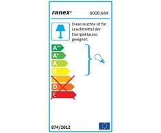 Ranex Lámpara de Escritorio, E27, 25, Lila