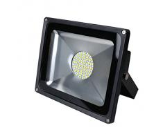 Luz 50W SMD Foco LED Proyector de exterior - Blanco cálido
