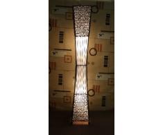 Lámpara de pie asiatica Bambu (LA12-07), Decoración luminosa de diseño Bali