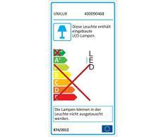 Unilux Lámpara de techo LED Integriert, 22 W, Gris Metalizado, 78 x 39.5 x 16.5 cm