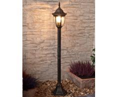 Clásica Lámpara de Pie/Iluminación Exterior IP43 / Oro Antiguo 8375n