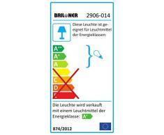 Briloner Leuchten – Lámpara de techo, pared Foco, Lámpara LED, Lámpara de techo, Foco LED, Focos, Salón Lámpara de techo Salón, Foco, Techo, Lámpara de pared, orientable