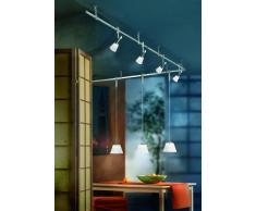 Ambientehome 55133 - Sistema de iluminación en rieles, barras y cables de interior