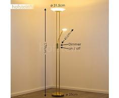 LED Lámpara de pie OLMINI - 1x 18W y 1x 5W - 2700 Lumens - 3000K - Luz regulable por separado