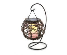 Esotec 102072 Korfu - Lámpara colgante solar de mesa