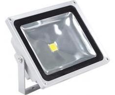 Faro led proyector alto brillo impermeable 30w ip65 luz cálida mws