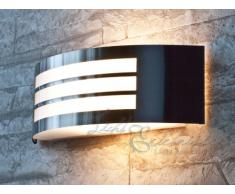 Moderna Lámpara de Pared / Iluminación Exterior IP44 / Acero Inoxidable 8410n