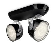 Philips myLiving Dyna Foco LED, iluminación interior, negro