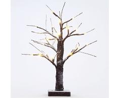 Fashionlite Bonsai de luz LED de Navidad decorativo árbol de la nieve Inicio / partido / festival / Navidad / uso interior y exterior SNWL001
