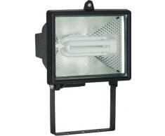 Electraline 63023 - Proyector (bajo consumo, con detector), color negro