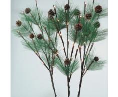 Eminza - Luz led warm naturis rama blanca