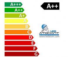 Luminaria LED PLUS. Doble potencia 120 cm. Color Blanco Neutro (4500K). Tubo led integrado T8 72w. 6800 Lumenes. Lampara led slim.