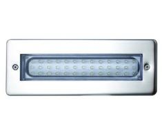 Leyton Lighting Enzo - Luz blanca, IP65, LED, empotrada, 3,2 W