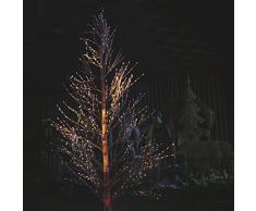Arbol de Navidad 150cms Luz multicolor con ramas iluminadas