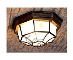 Lámpara de techo para exterior de estilo tradicional / oro antiquo / IP44 8376n