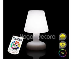 Lampara EDISON RGB SIN CABLES con Mando a Distancia (16 colores de Luz)