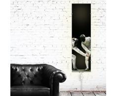 Diseño de cristal caja plegable para mueble IKEA lámpara de pared con diseño vertical Gyllen: esgrima