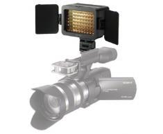 Sony HVLLE1 - Sistema de iluminación continua para videocámara (LED, AA NiMH, 3200K), color negro