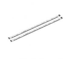 Accesorio de tiras LED HUE 2 (300 mm) NZXT - Dos tiras de iluminación LED RGB - Imán y cinta de doble cara - Sistema de iluminación de sobremesa envolvente