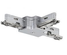 Paulmann 97656 corriente Sistema de raíles, Plata