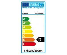 Osram - Bombilla halógena de bajo consumo (E27, 53 W equivalentes a 70W, 5.5 x 5.5 x 9.6 cm)