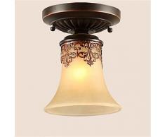 JJ LED moderno plafones YL candelabros ilumina el LED Colgante Vintage lámparas de techo Classic lodge rústico Vintage Retro Linterna , Comedor Salón Dormitorio blanco cálido-(220V-240V).