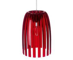 Koziol Josephine - Lámpara de techo colgante, color rojo transparente