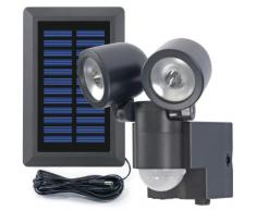 GEV 858 LPL - Foco solar a LED doble (130°)