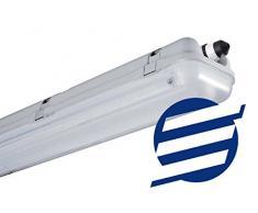 REGDUO – Regleta – Caja Tubo LED T8 1200 mm doble,