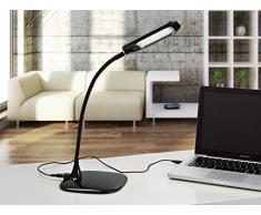 Lámparas de Sobremesa LED : Modelo EYE negro